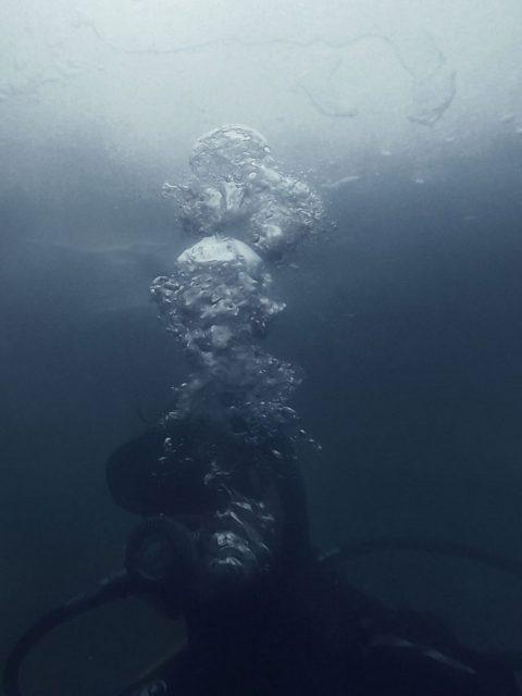 Aurel Dahlgrün - Floating circles, mixed media performance in collaboration with Tomas Kleiner, 2019, Planet 58, Kunstsammlung NRW