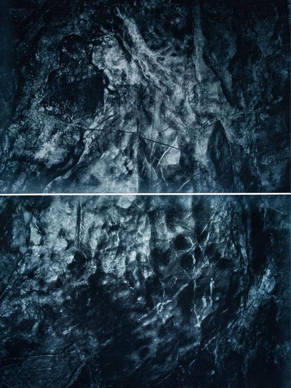 Floating wall / Reef II (unterseeische Felsformation in unterirdischer Waldregion)
