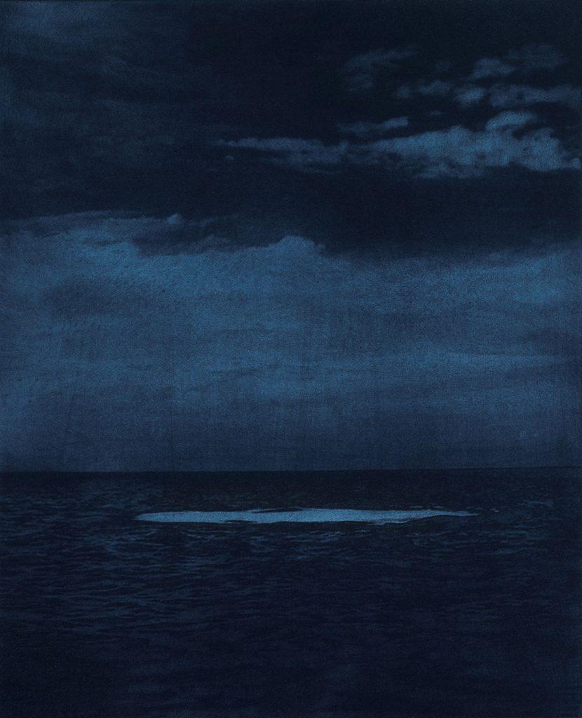 Aufsteigende Luft II - Photogravure - Aurel Dahlgrün