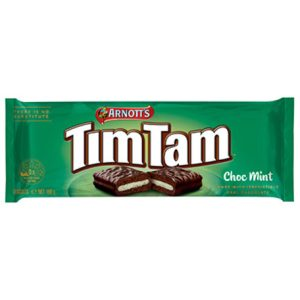Tim Tam choc mint