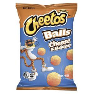 cheetos cheese & bacon balls