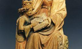 Anna lehrt Maria das Lesen