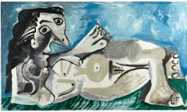 Picasso – Nackte, schlafende Frau