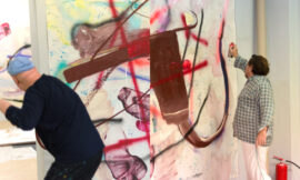 Dokoupil und Schnabel feiern die Malerei