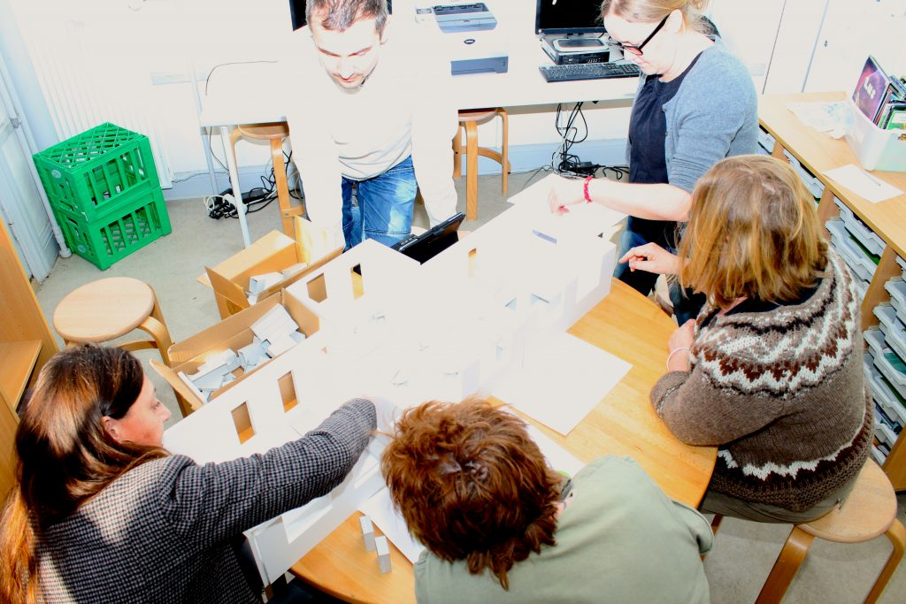 Indretningsworkshop Learning Space Design Kit