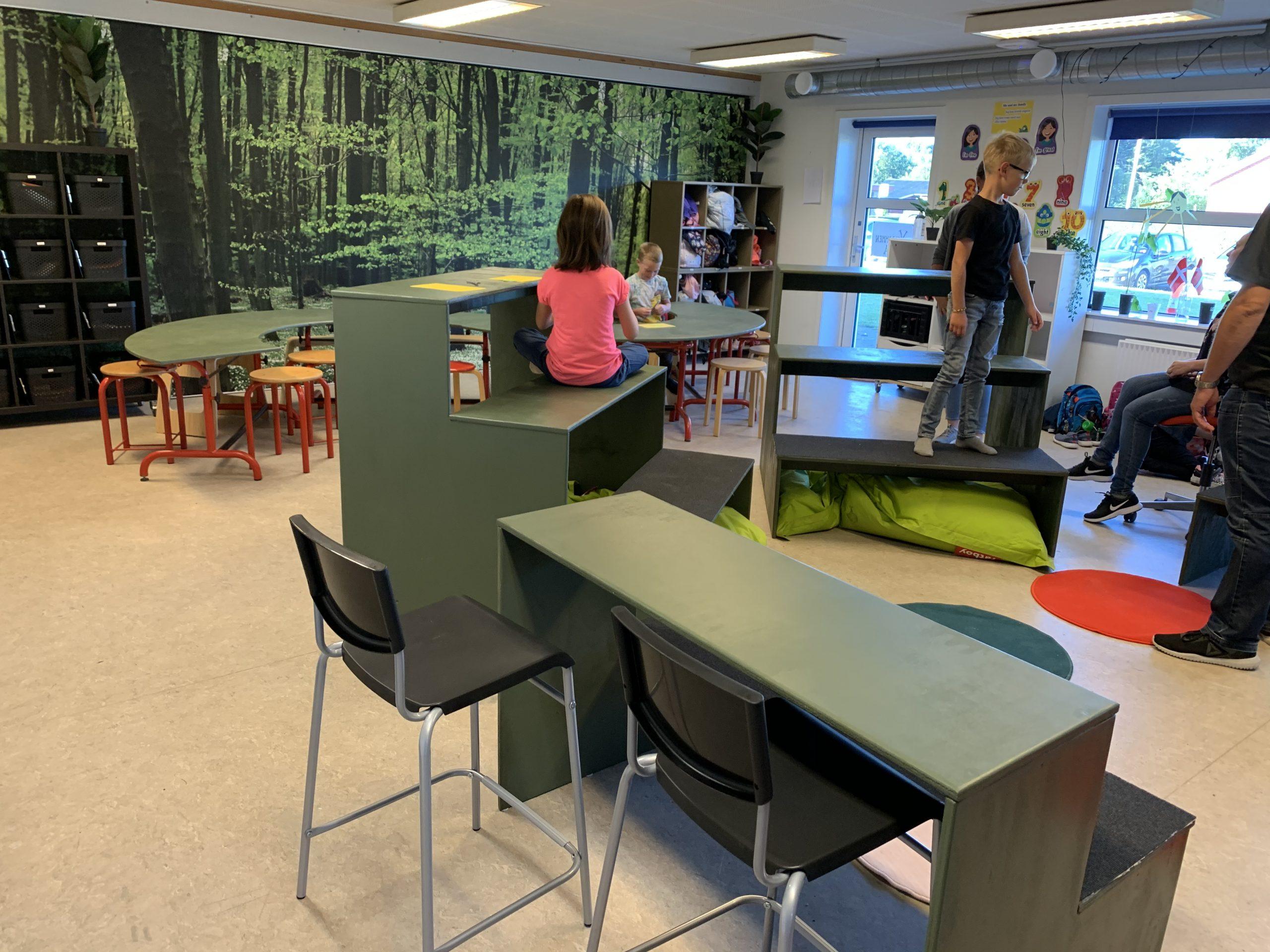 Læringsrum - redesignet af eleverne!