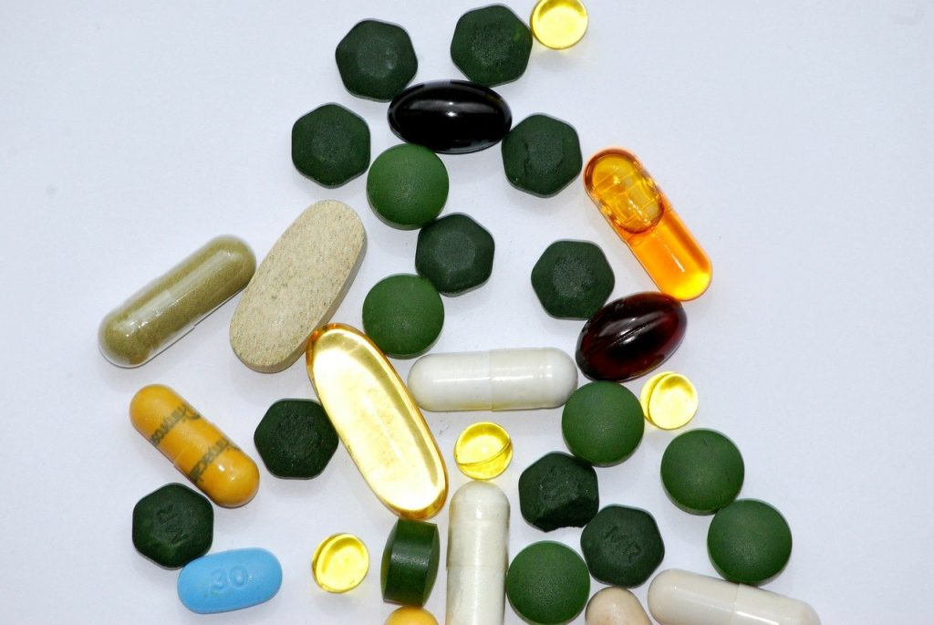 medication, pills, food supplements