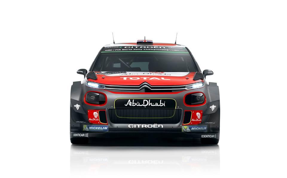 De nieuwe Citroen C3 WRC  2017