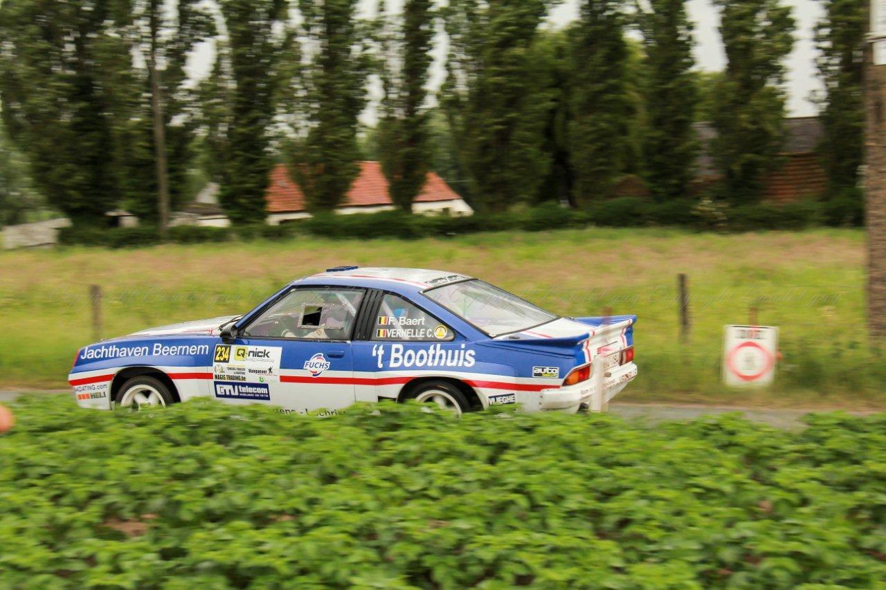 ORC Rally Wielsbeke 2015 guy Baudot