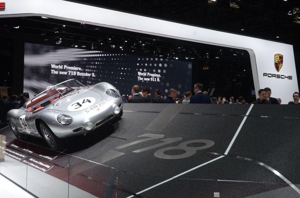 Geneva 2016 Porsche