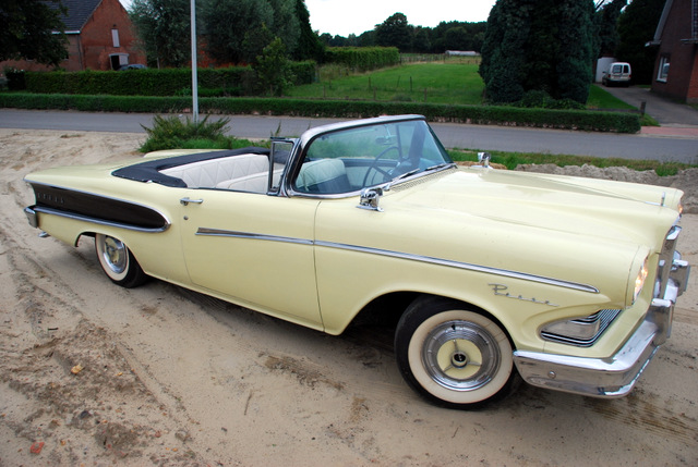 "Edsel 1958 ""On the boulevard of broken dreams"". Vincent Arpons"