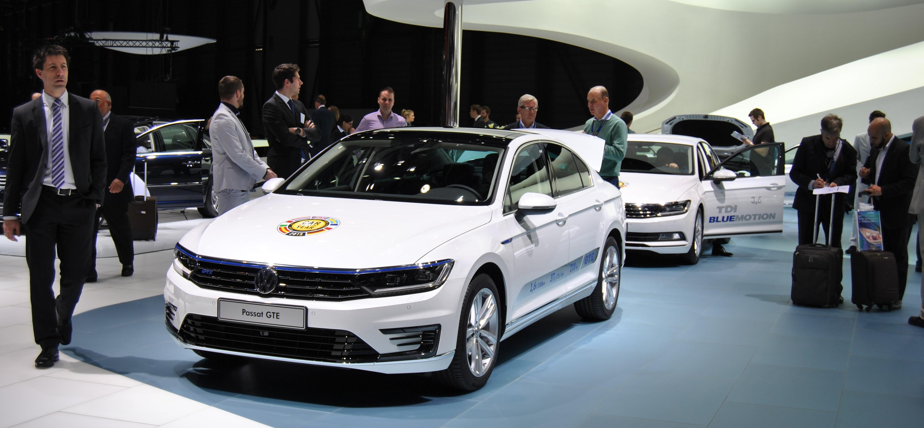 Car of the year 2015 Volkswagen Passat