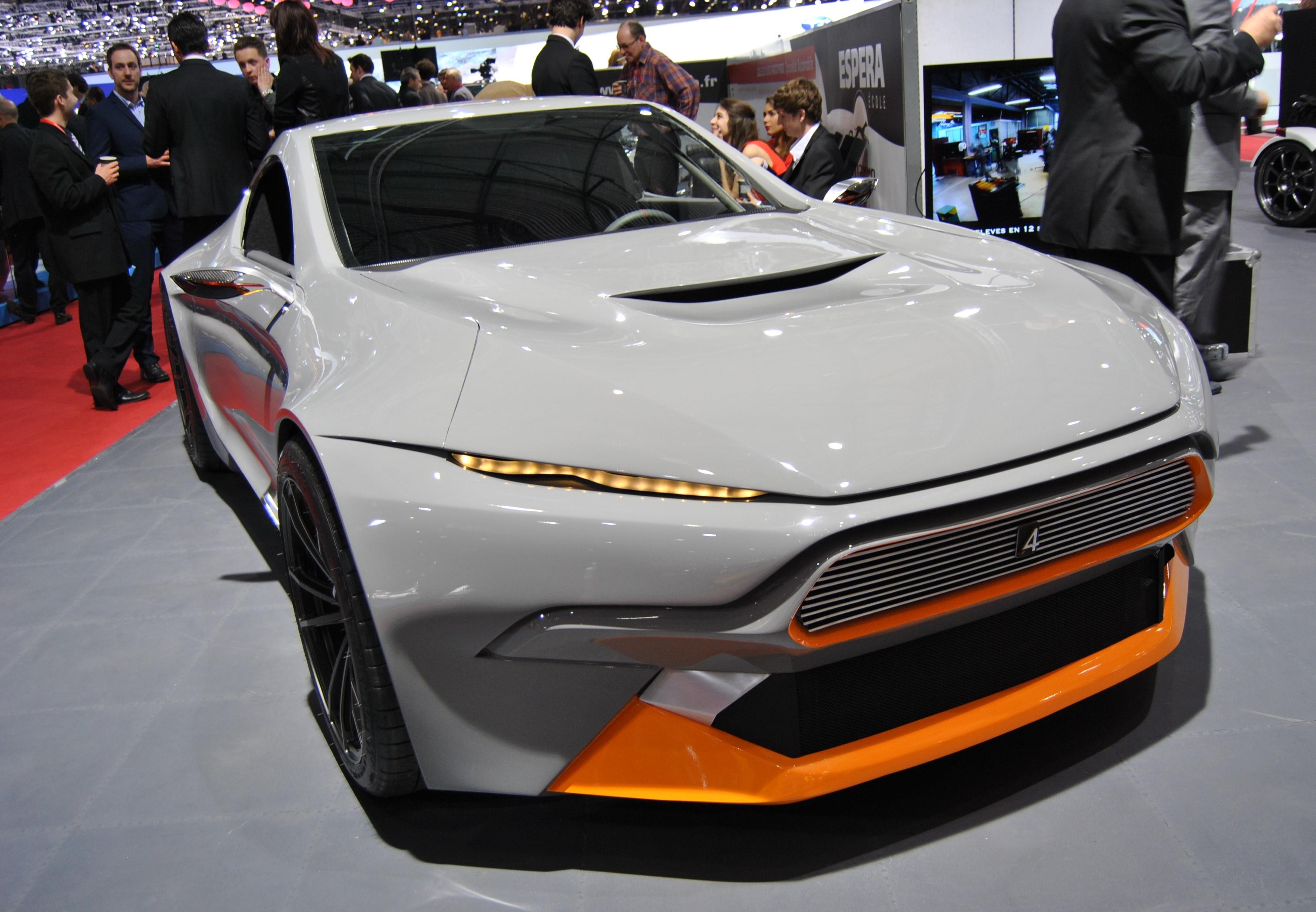Autosalon Genève 2015 Concept cars
