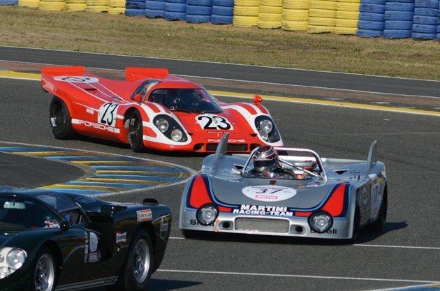 Porsche's at Le Mans Classics FR.  2016  Wilfried Geerts