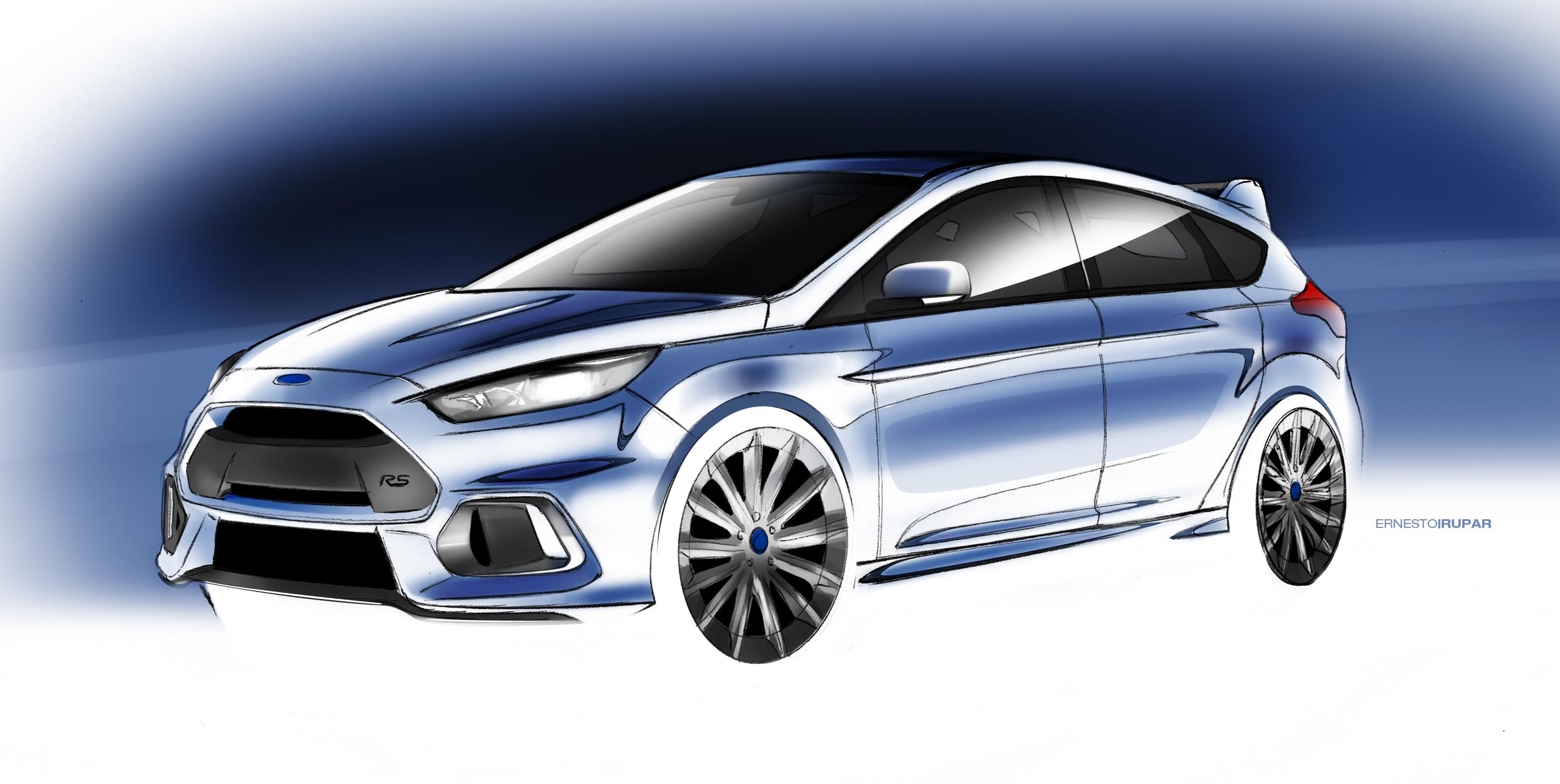 Nieuwe Ford Focus 2015 : Efficiënt Plezier  reportage: Alain Mervilde