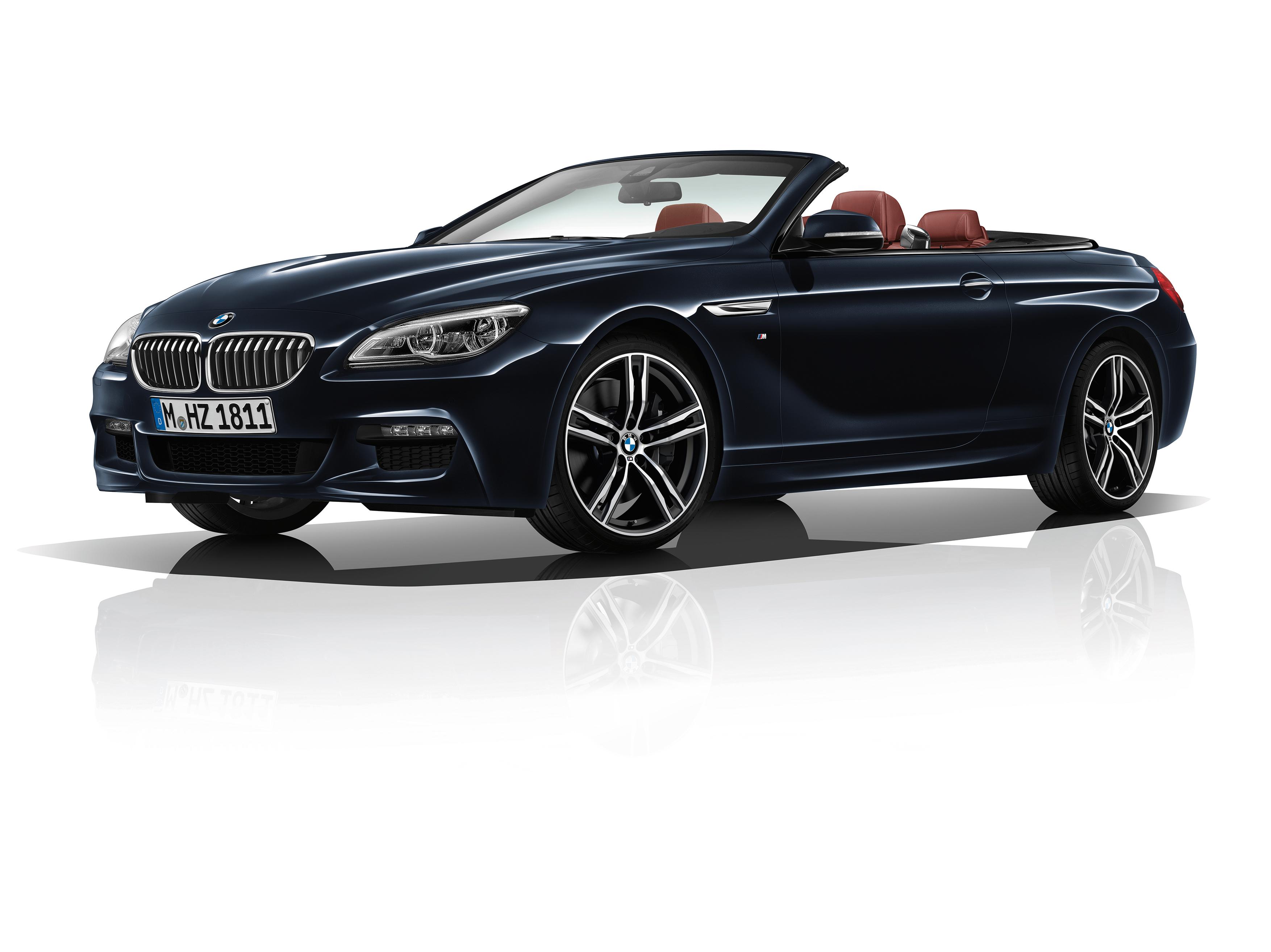 Nieuwe opties voor BMW 6 Reeks: luxueuze elegantie op zijn best.