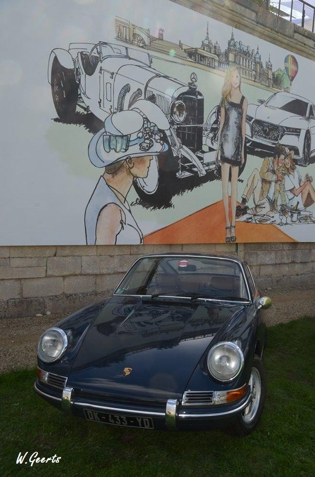 Chantilly Arts et Elegance 2015 de Porsche's