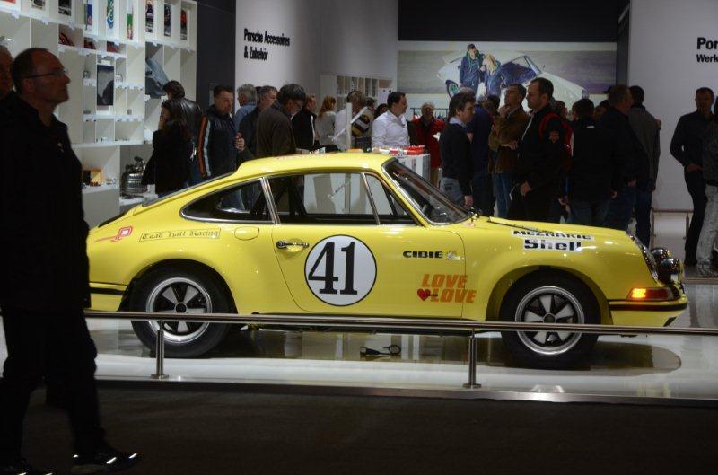 Techno Classica 2016 de Porsche's Wilfried Geerts