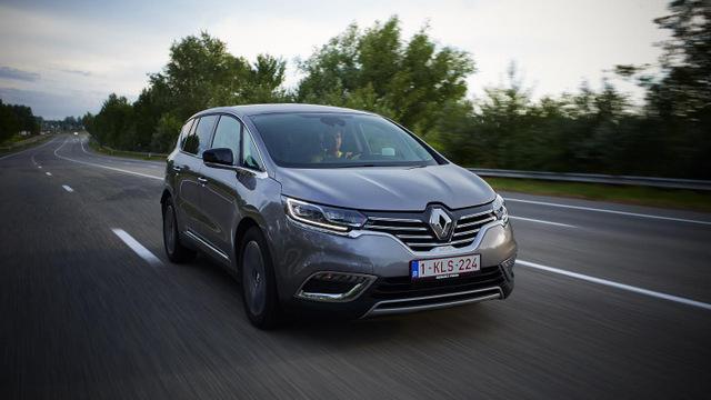Espace V. Renault verandert van koers