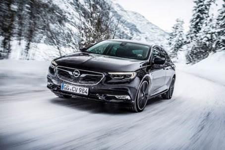Vierwielaandrijving met koppelvectoring voor nieuwe Opel Insignia