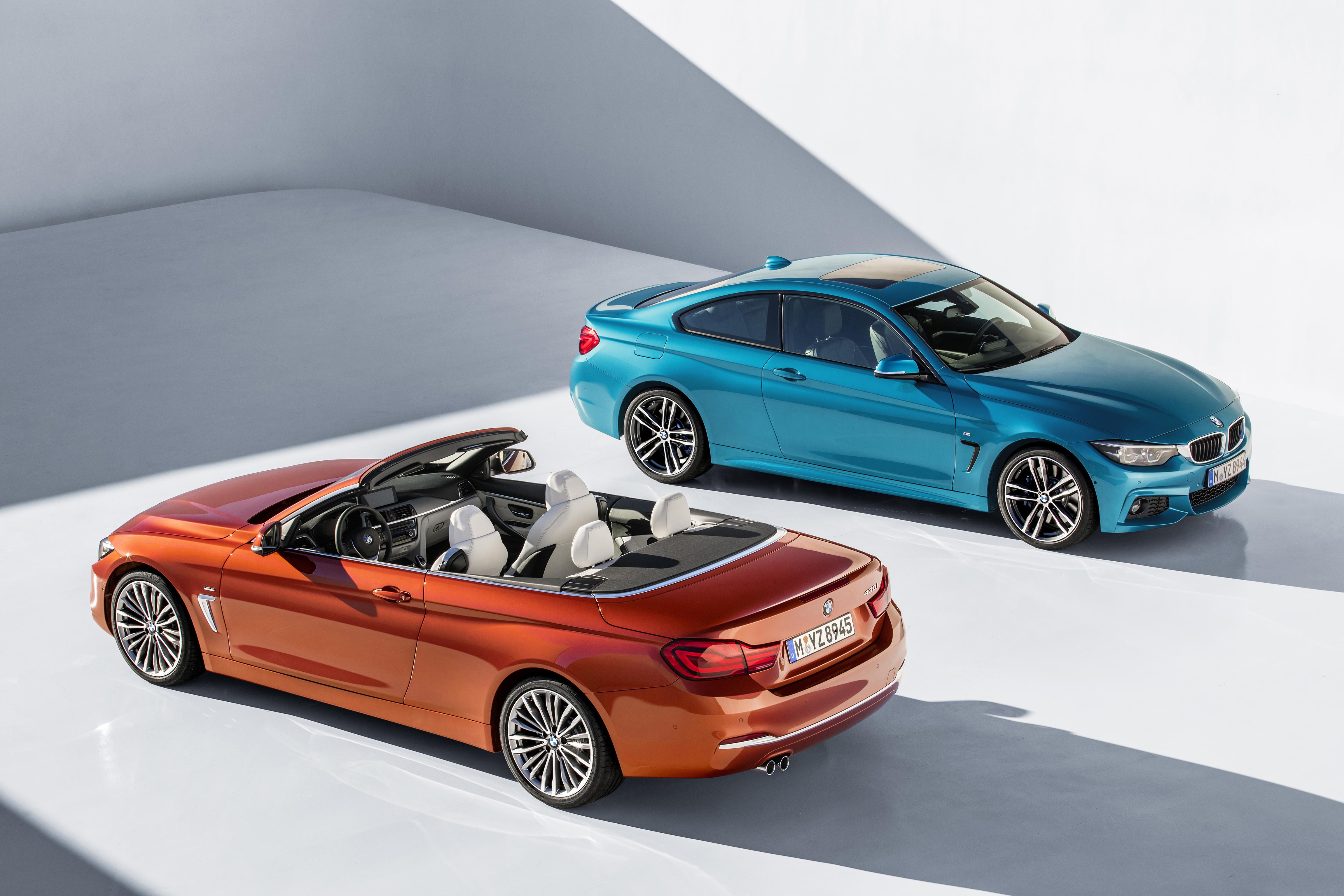 De nieuwe BMW 4 Reeks