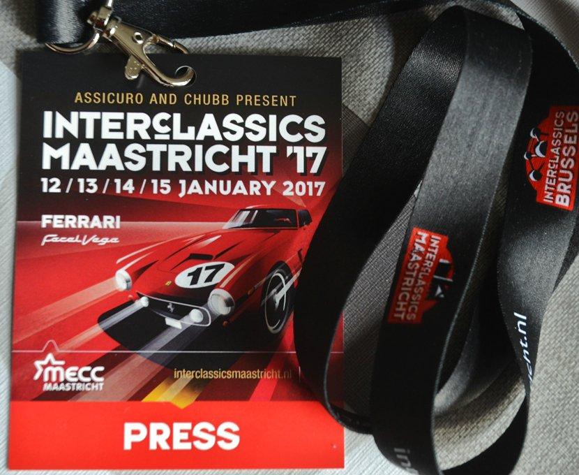 Interclassics Maastricht de Porsche's  Wilfried Geerts