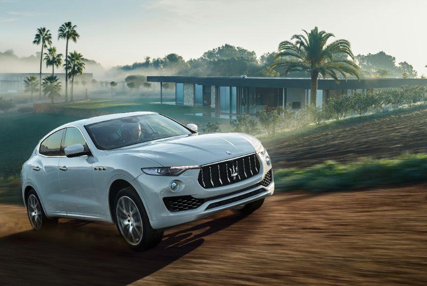 Belgisch showdebuut Maserati Levante op het Auto Salon