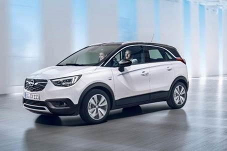 Nieuwe Opel Crossland X: stijlvol in de stad met coole SUV-look