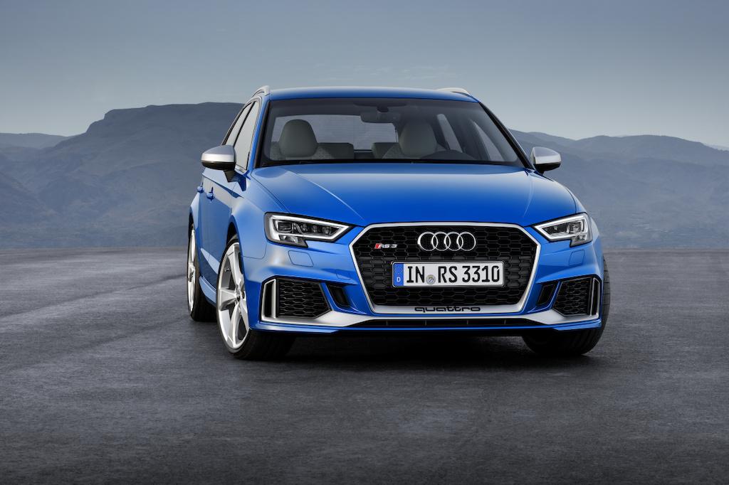 Nieuwe motor en een nog scherpere look: update voor de Audi RS 3 Sportback