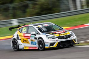 Next step: Pierre-Yves Corthals, winner of last season's TCR Trophy Europe, and Belgian team DG Sport Compétition are working on using two Opel touring cars in the TCR International Series.