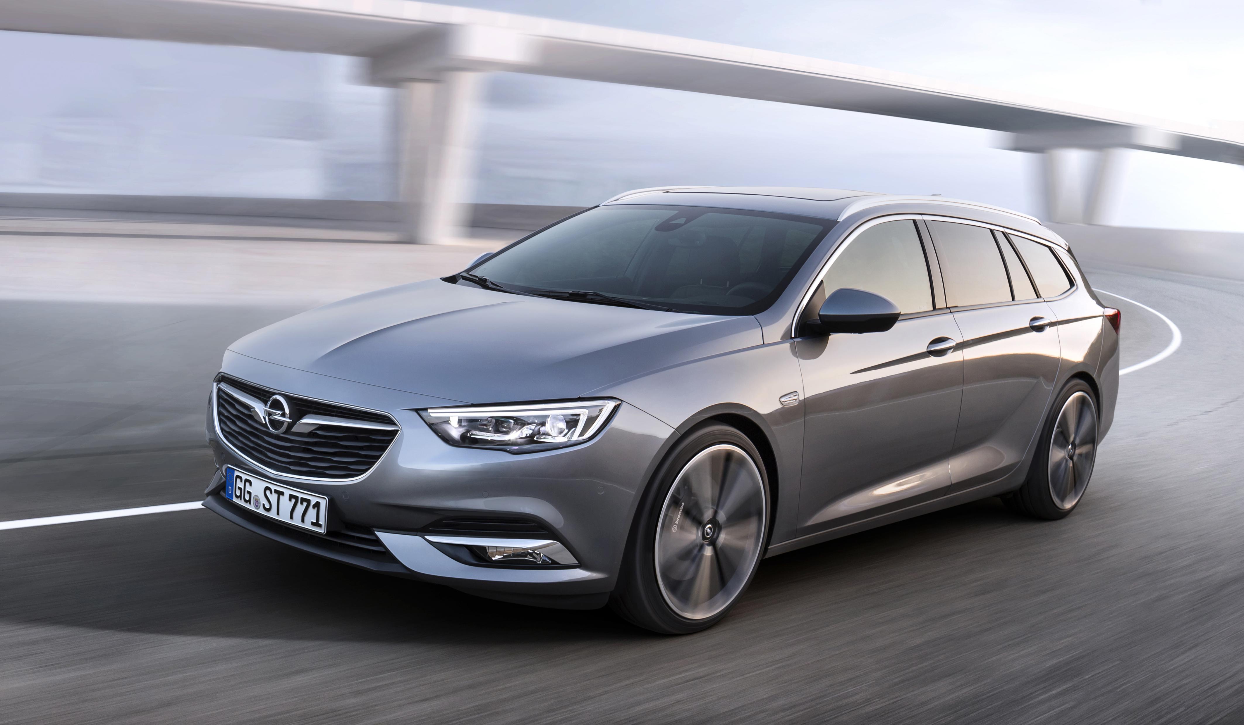 Ruim en sportief: de nieuwe Opel Insignia Sports Tourer