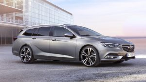 Really spacious: The new Opel Insignia Sports Tourer station wagon is available from €26,940 in Germany.