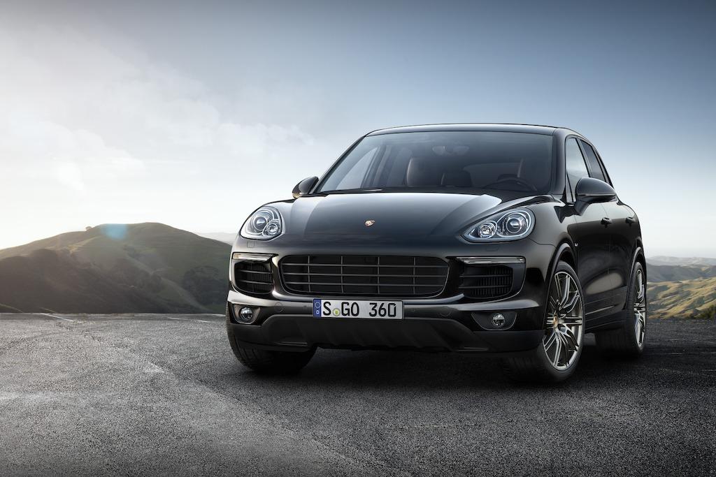Porsche biedt voortaan ook twee Cayenne S-modellen als Platinum Edition aan