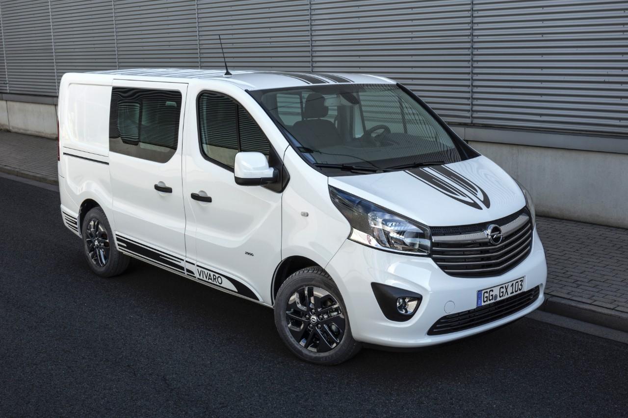 Orderboeken open voor nieuwe Opel Vivaro Sport
