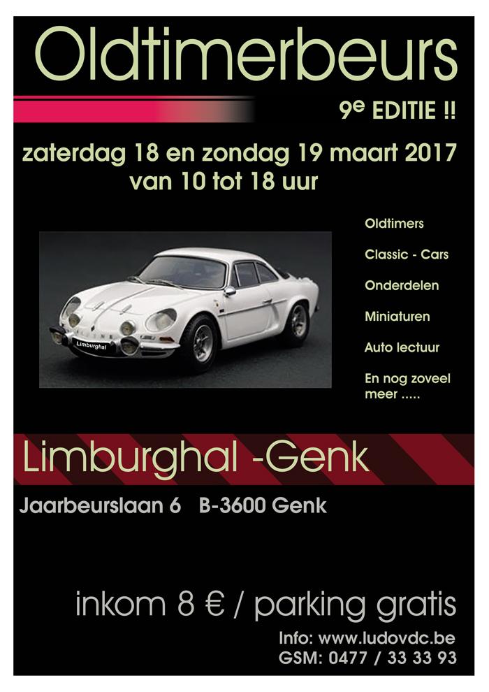 9de Oldtimerbeurs Limburg-hal Genk door Vincent Arpons