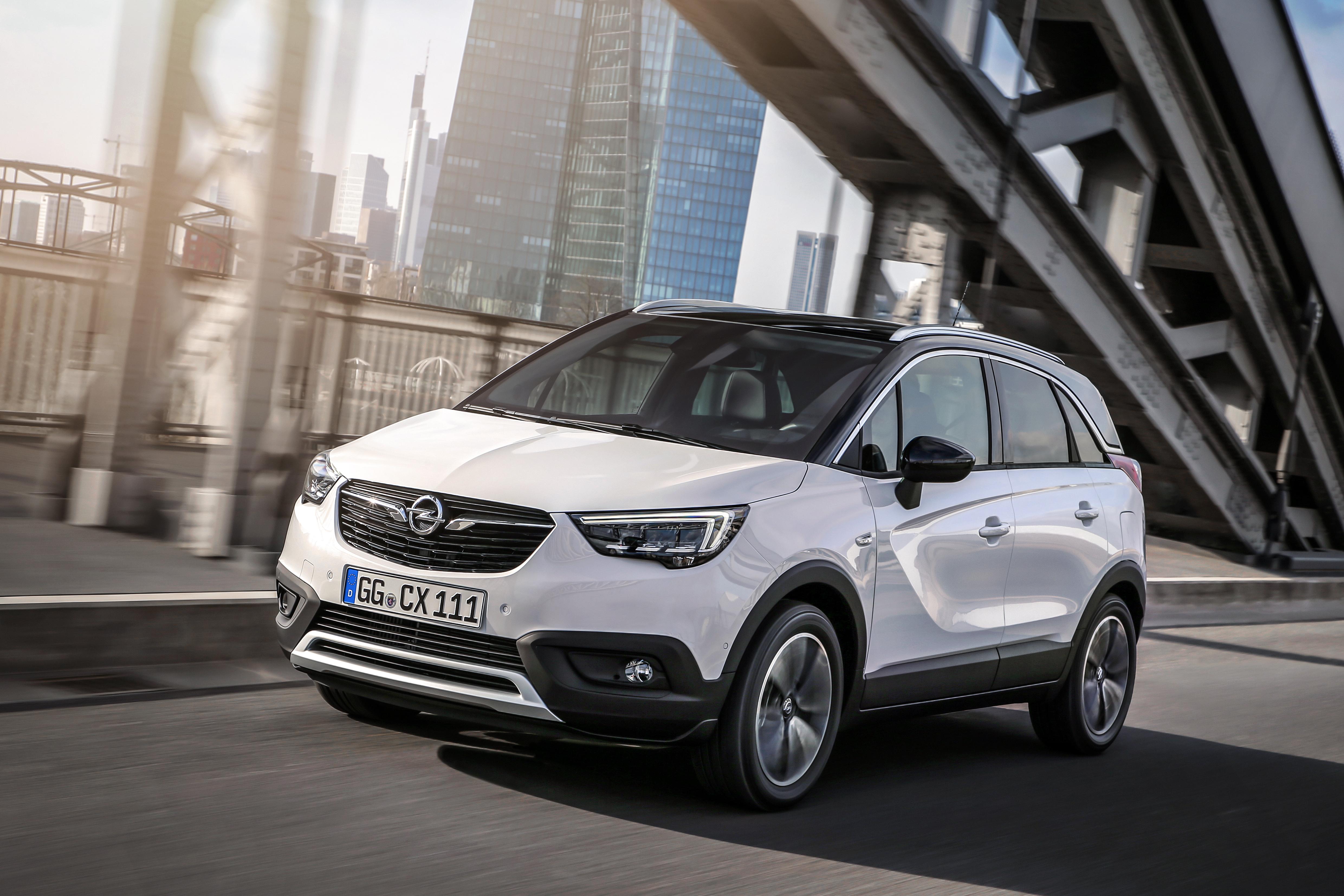 Design nieuwe Opel Crossland X: sterke mix van stijl en functionaliteit