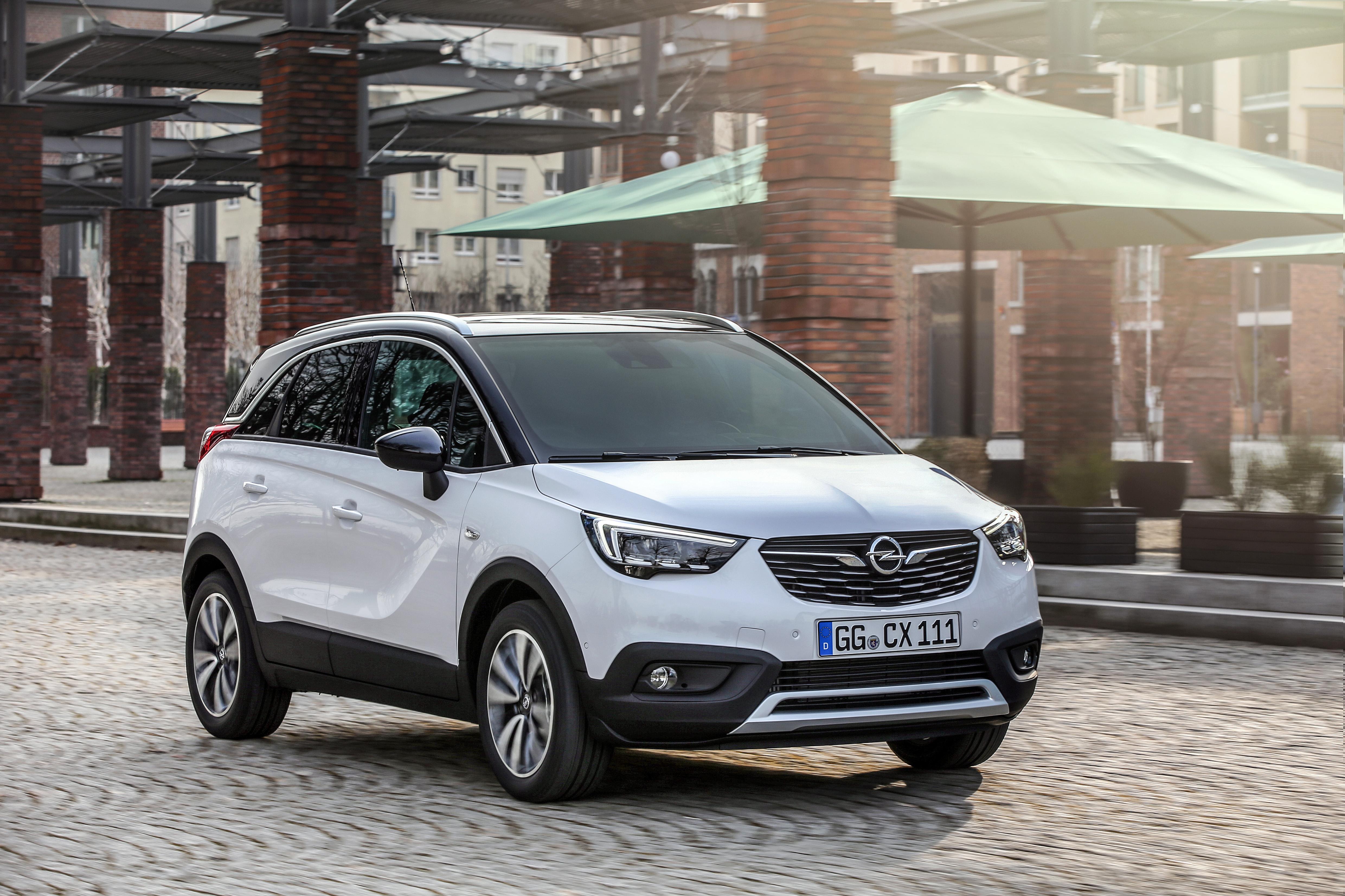 Coole cross-over: lancering van nieuwe Opel Crossland X