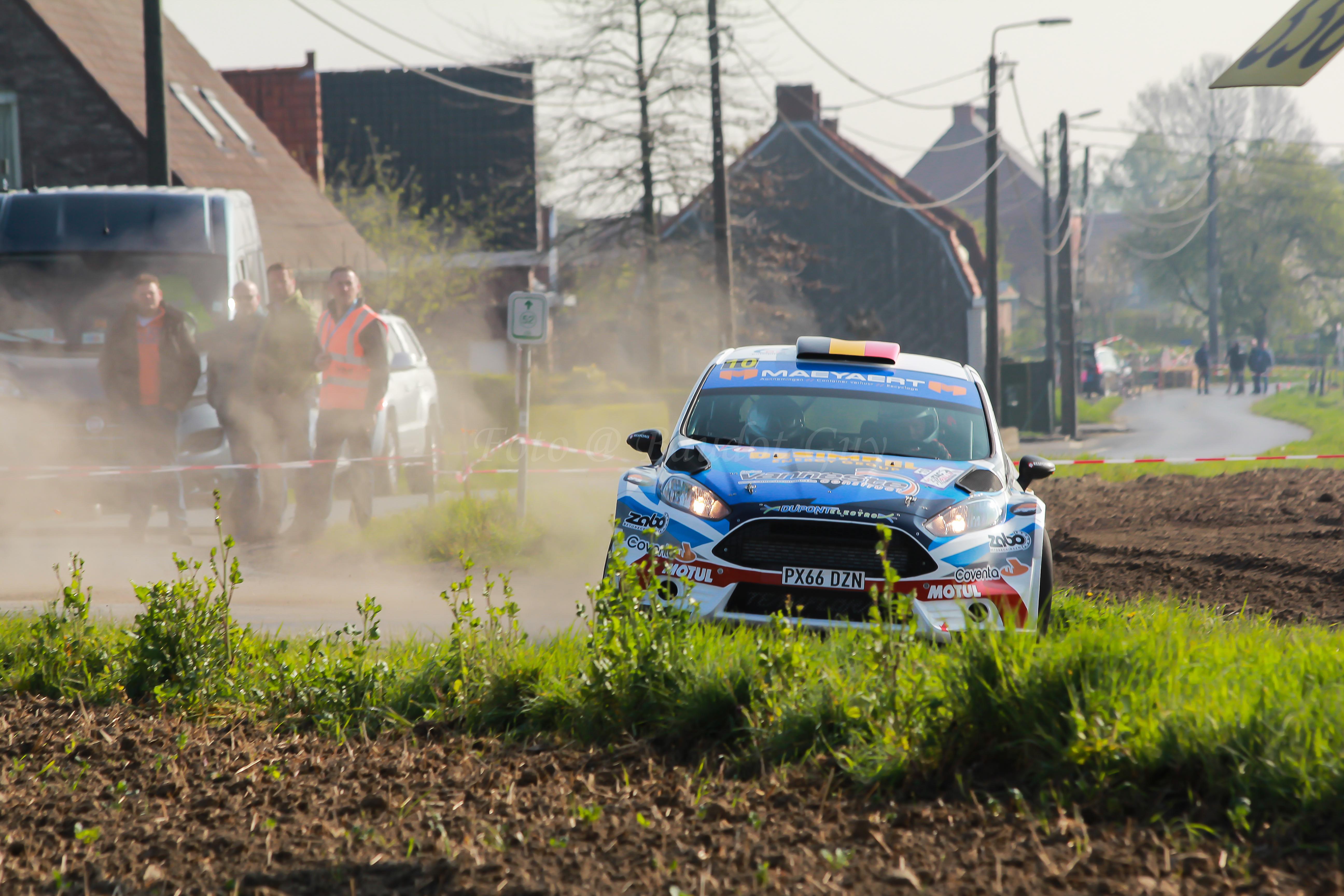 """Rally van Wallonië – 28-30 april    Pieter-Jan Maeyaert goed voorbereid aan de start """"Ik moet mezelf tijd geven"""""""