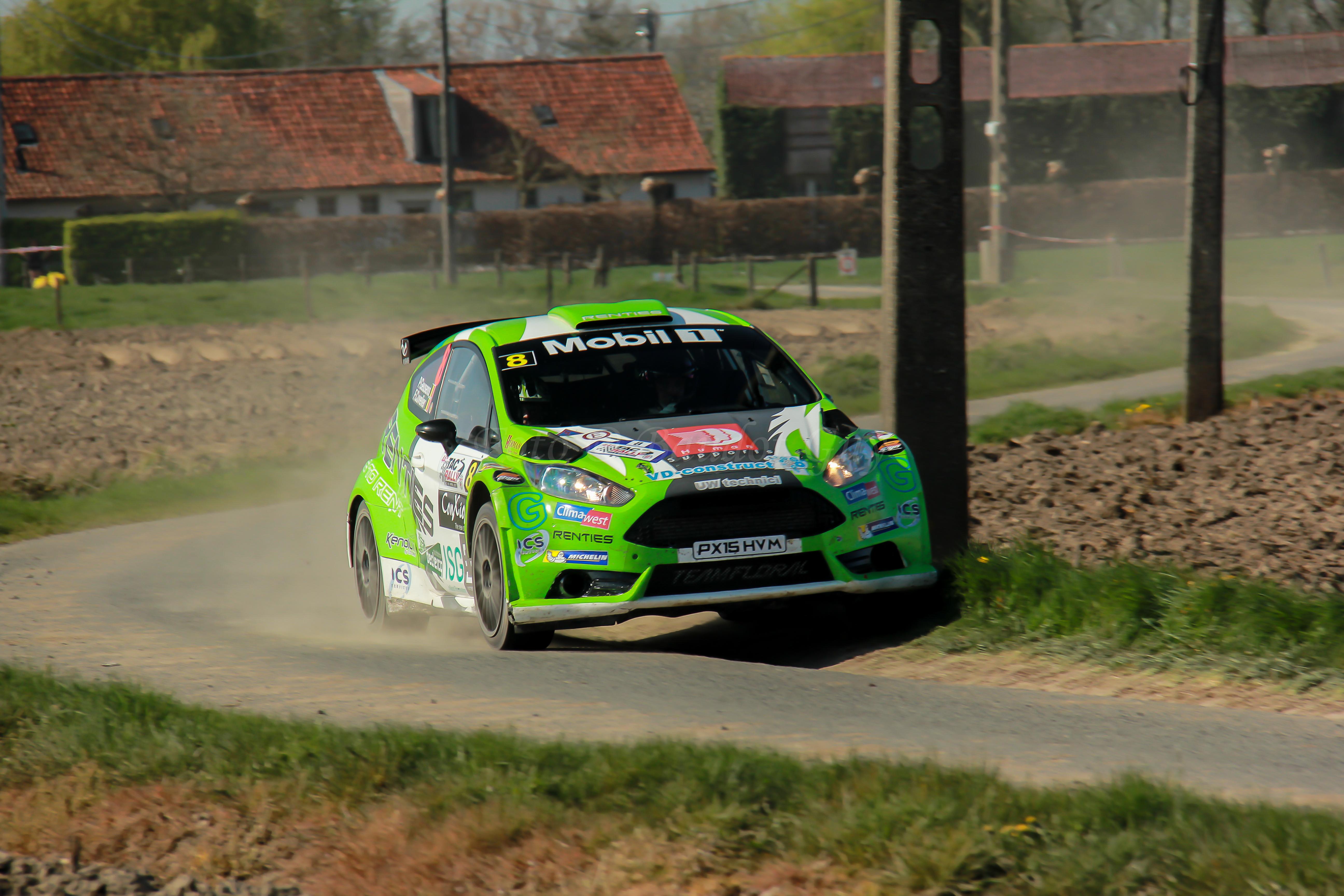 """Renties in de Rally van Wallonië  Polle Geusens: """"Nog een stapje sneller…"""""""