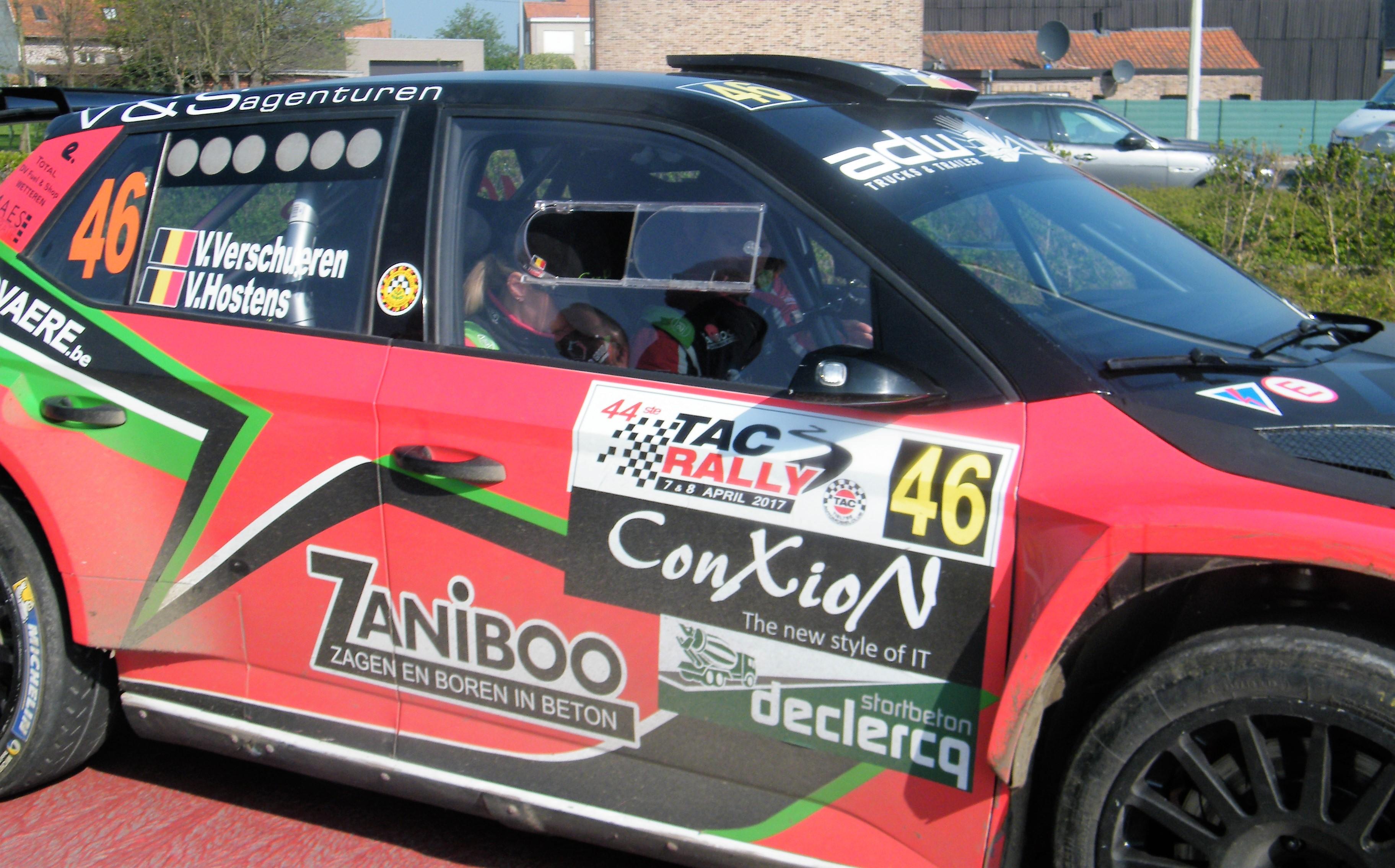 TAC Rally De perfecte rally van Vincent Verschueren