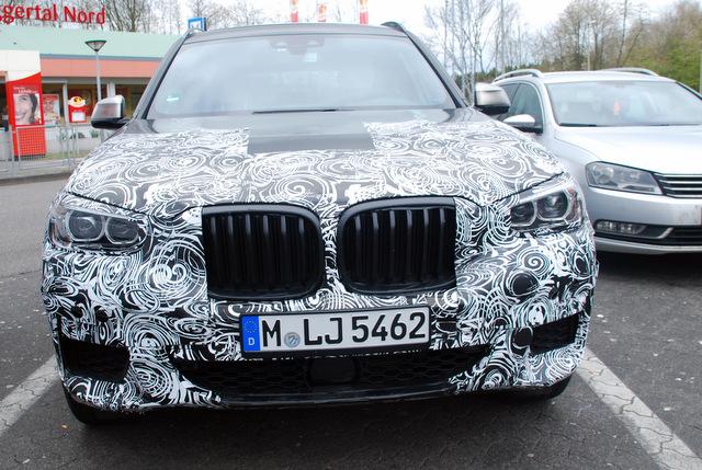 Gespot op de Autobahn: de nieuwe BMW X3.