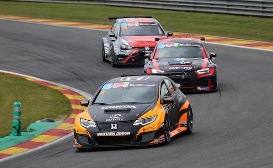 Meteen verschillende podiumplaatsen voor Honda en Boutsen Ginion Racing!