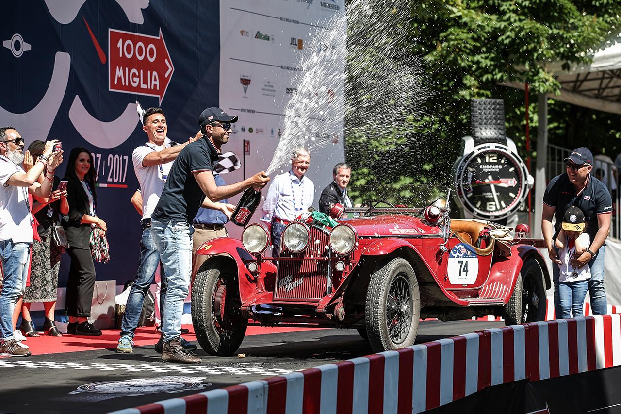 Mille Miglia 2017 een video Etappe 3