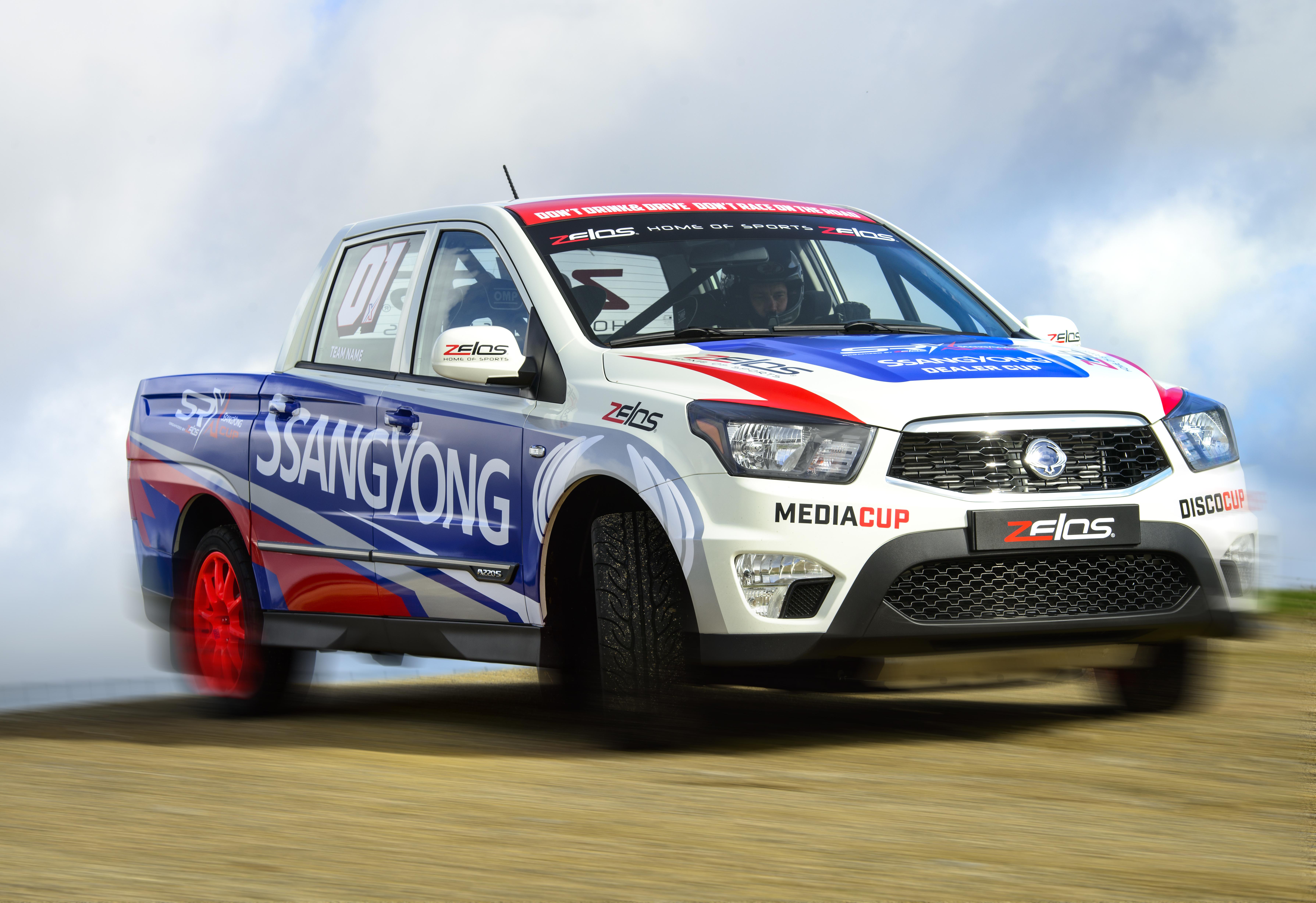 De 3de race voor de Ladbrokes SRX Cup