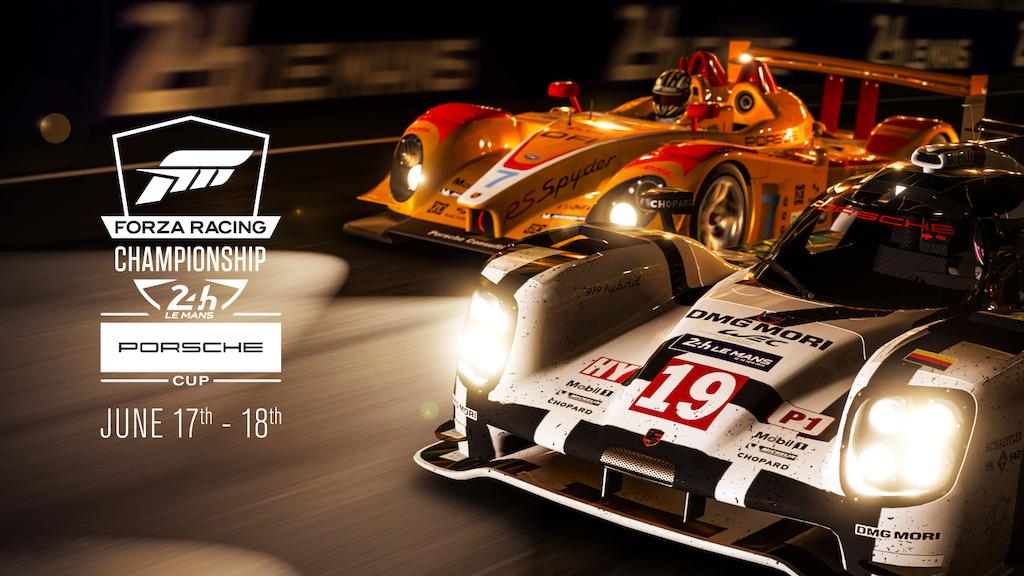 Porsche, Microsoft en ACO presenteren groot eSport-Racing-evenemenent in Le Mans