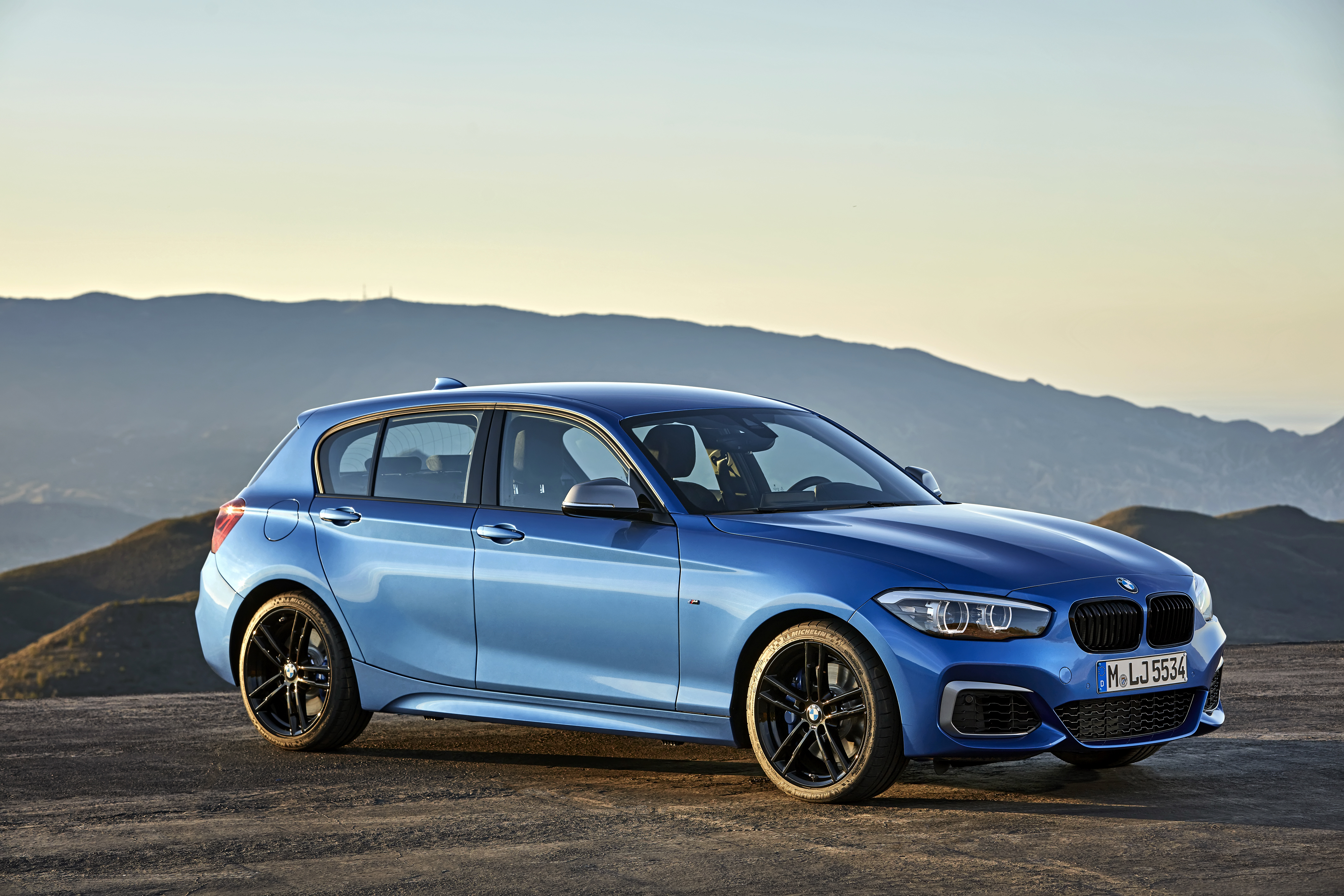 De nieuwe BMW 1 Reeks: onmiskenbaar sportief.