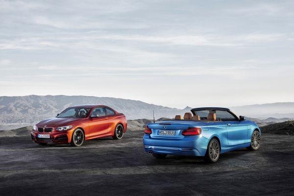De nieuwe BMW 2 Reeks Coupé en Cabrio.