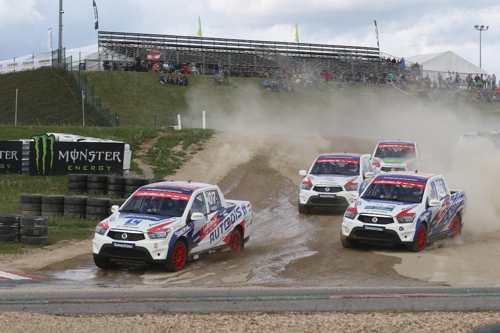 Ladbrokes SRX Cup round #3  Rallyman Vincent Verschueren imponeerde in Mettet
