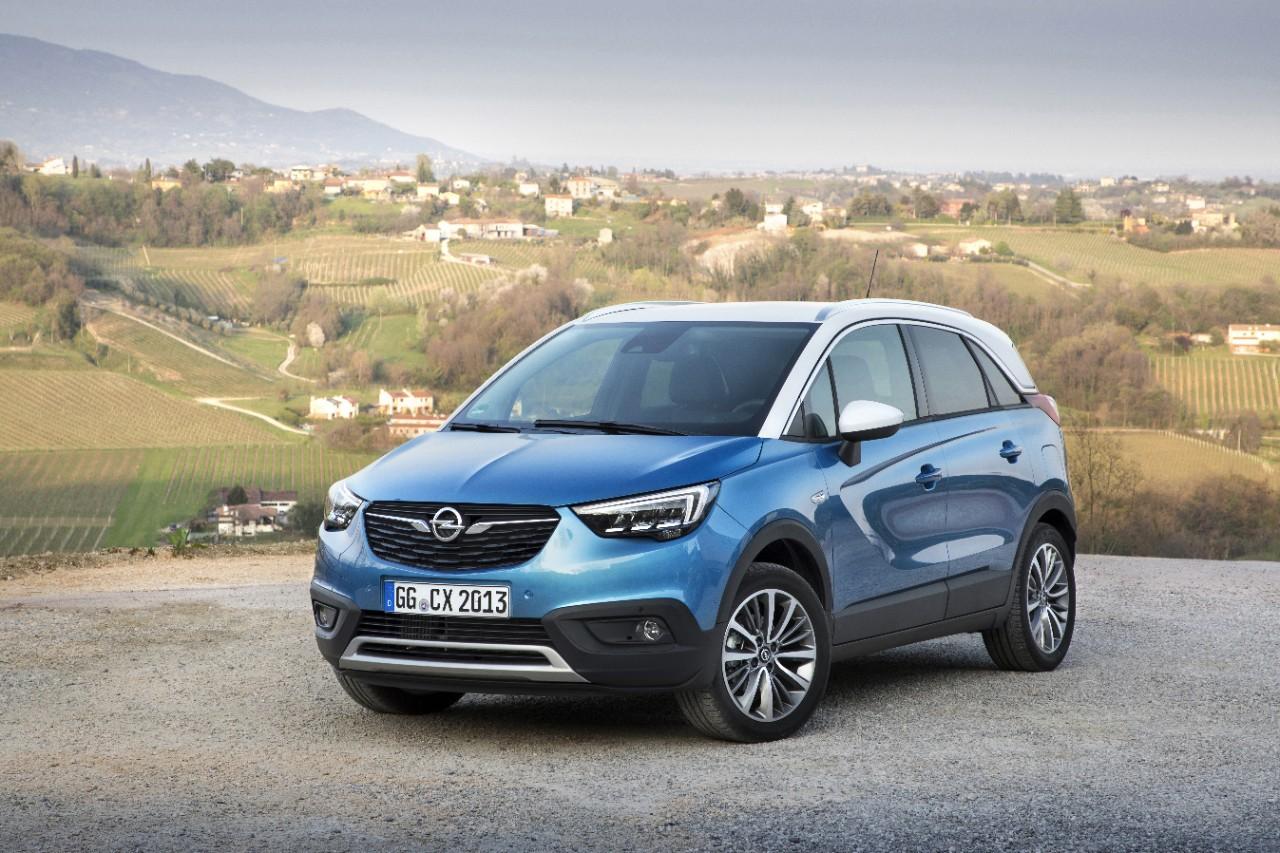 Opel Crossland X: stijlvol in de stad met coole SUV-look