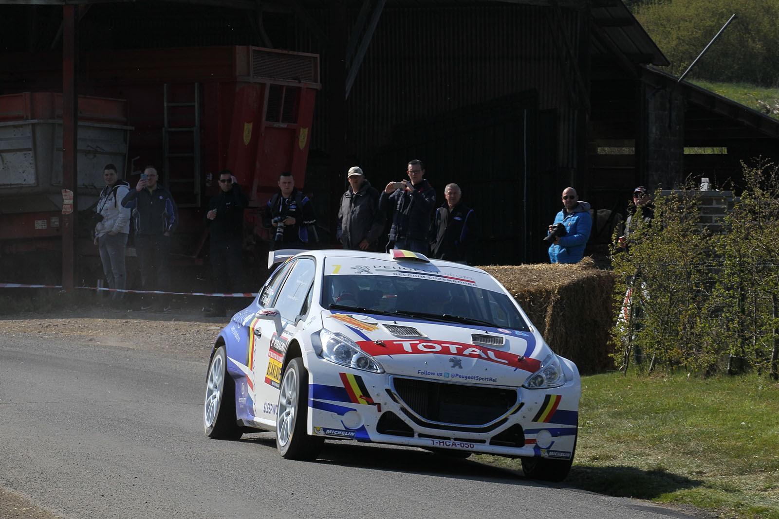 Kevin Abbring wint de Rally van Wallonië